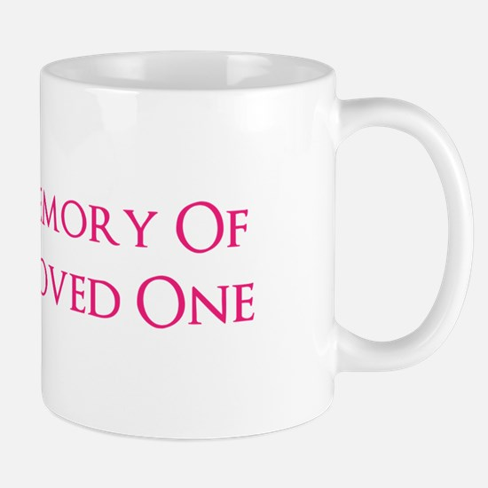 In Memory Cross Mug