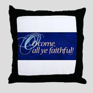 Christmas Decoration: O come all ye faithful. Thro
