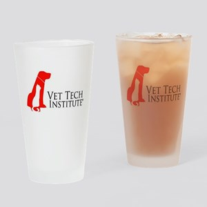 VTI Logo Drinking Glass