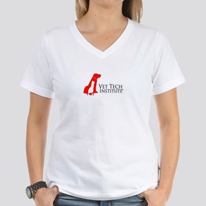 VTI Logo Women's V-Neck T-Shirt