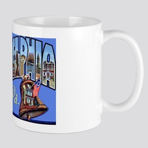 Philadelphia Pennsylvania Greetings Mug