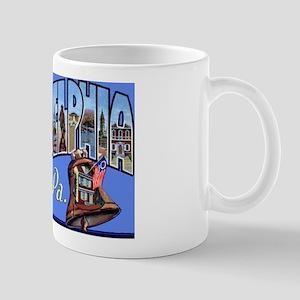 Philadelphia Pennsylvania Greetings Mug