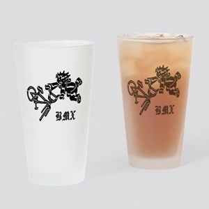 Rebel BMX Drinking Glass