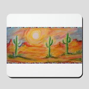 Desert, scenic southwest landscape! Mousepad