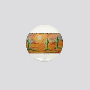 Desert, scenic southwest landscape! Mini Button