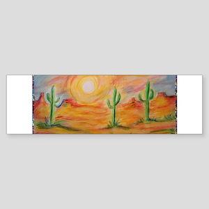 Desert, scenic southwest landscape! Sticker (Bumpe