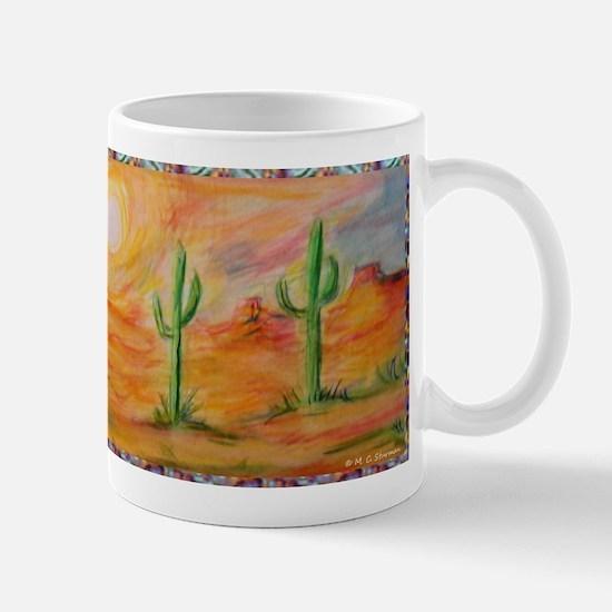 Desert, scenic southwest landscape! Mug
