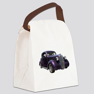 1937 Plymouth P3 Business Coupe Canvas Lunch Bag