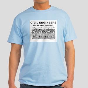 Civil Engineers Graded Light T-Shirt