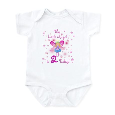 Birthday Angel 2nd Birthday Infant Creeper