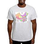 China Map Light T-Shirt