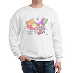 China Map Sweatshirt