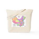 China Map Tote Bag