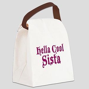 Hella Cool Sista Canvas Lunch Bag