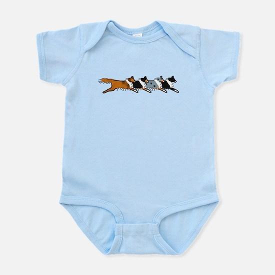 Group O' Shelties Infant Bodysuit