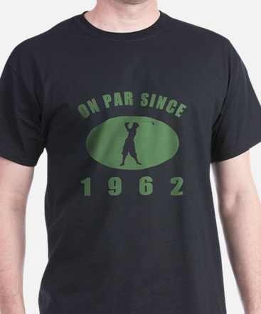 1962 Golfer's Birthday T-Shirt