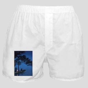 Shubi Pine - anon - 1900 - woodcut Boxer Shorts