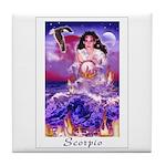 Scorpio Tile Coaster
