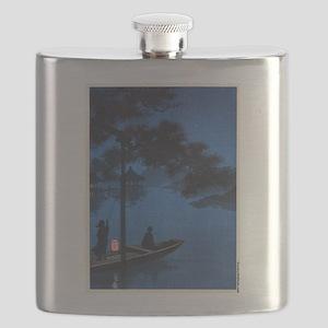Shubi Pine - anon - 1900 - woodcut Flask