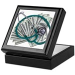Stethoscope and Money Keepsake Box