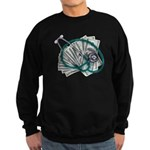 Stethoscope and Money Sweatshirt (dark)