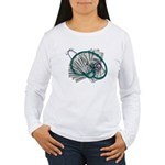 Stethoscope and Money Women's Long Sleeve T-Shirt