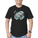 Stethoscope and Money Men's Fitted T-Shirt (dark)