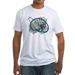 Stethoscope and Money Fitted T-Shirt