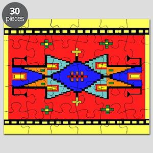 Lakota Dreams Blanket Design Puzzle