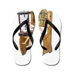Sitting Timeout Chair Hour Glass Flip Flops