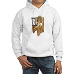 Sitting Timeout Chair Hour Glass Hooded Sweatshirt