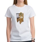 Sitting Timeout Chair Hour Glass Women's T-Shirt