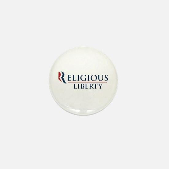 Romney Ryan: Religious Liberty Mini Button (10 pac