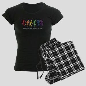 gay pride dance Women's Dark Pajamas