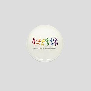 gay pride dance Mini Button (10 pack)