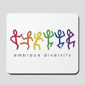 gay pride dance Mousepad