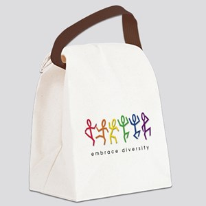 gay pride dance Canvas Lunch Bag