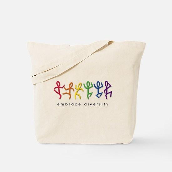 gay pride dance Tote Bag