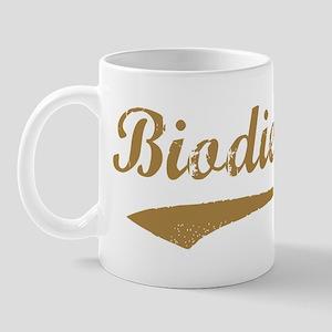 Brown Vintage Biodiesel Mug
