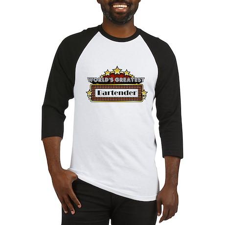 World's Greatest Bartender Baseball Jersey