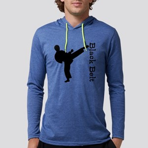 Martial Arts Mens Hooded Shirt