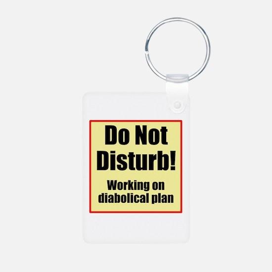 Do Not Disturb! Diabolical Keychains