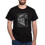 Black T-Shirt with laryngoscope