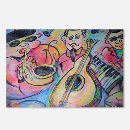 Band, music, art! Postcards (Package of 8)