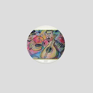 Band, music, art! Mini Button