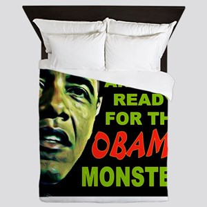 OBAMA MONSTER Queen Duvet