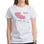 Tibet Map Women's T-Shirt