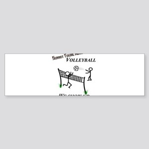 SYA volleyball Sticker (Bumper 10 pk)