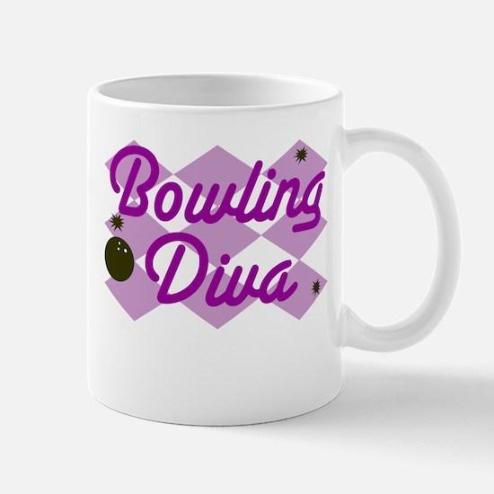 Bowling Diva Mug