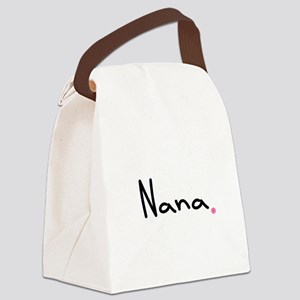 Nana Boutique Canvas Lunch Bag